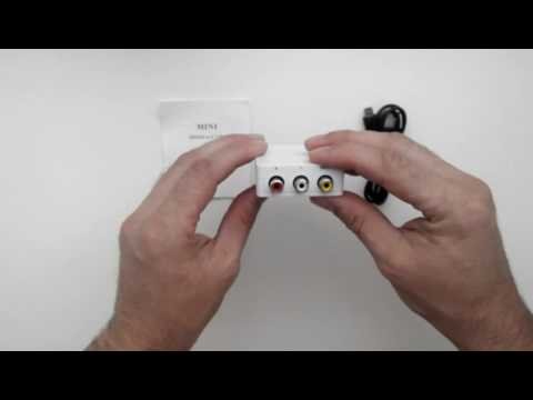 Переходник HDMI - тюльпан