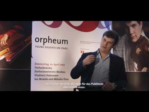Jan Mráček-Orpheum Foundation soloist, Zurich-Tonhalle (Fedoseyev, Tchaikovsky Symphony Orchestra)