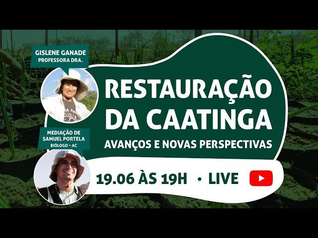 Restauração da Caatinga: Avanços e novas perspectivas