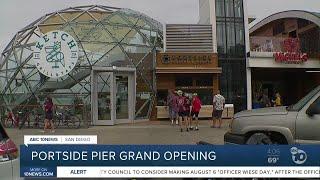 Portside Pier grand opening