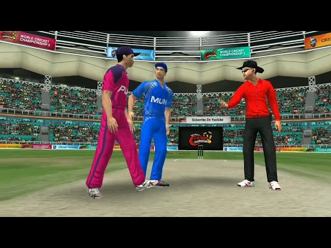 24th April Mumbai  Indians Vs RIsing Pune Supergiants World Cricket Championship 2 2017 Gameplay