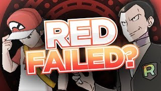 Red FAILED to Stop Giovanni!? | Pokémon Theory