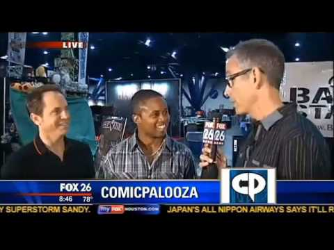 David Yost and Walter Jones Interview on Fox 26 Houston