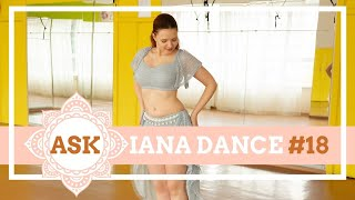 Types of Belly Dance Shimmy - ASKianaDANCE #18