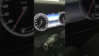 ベンツSクラス W222前期型 ワンタッチウインカー点滅回数変更/テレビキャンセラーのコーディングMERCEDES BENZ W222 S CLASS blinker coding
