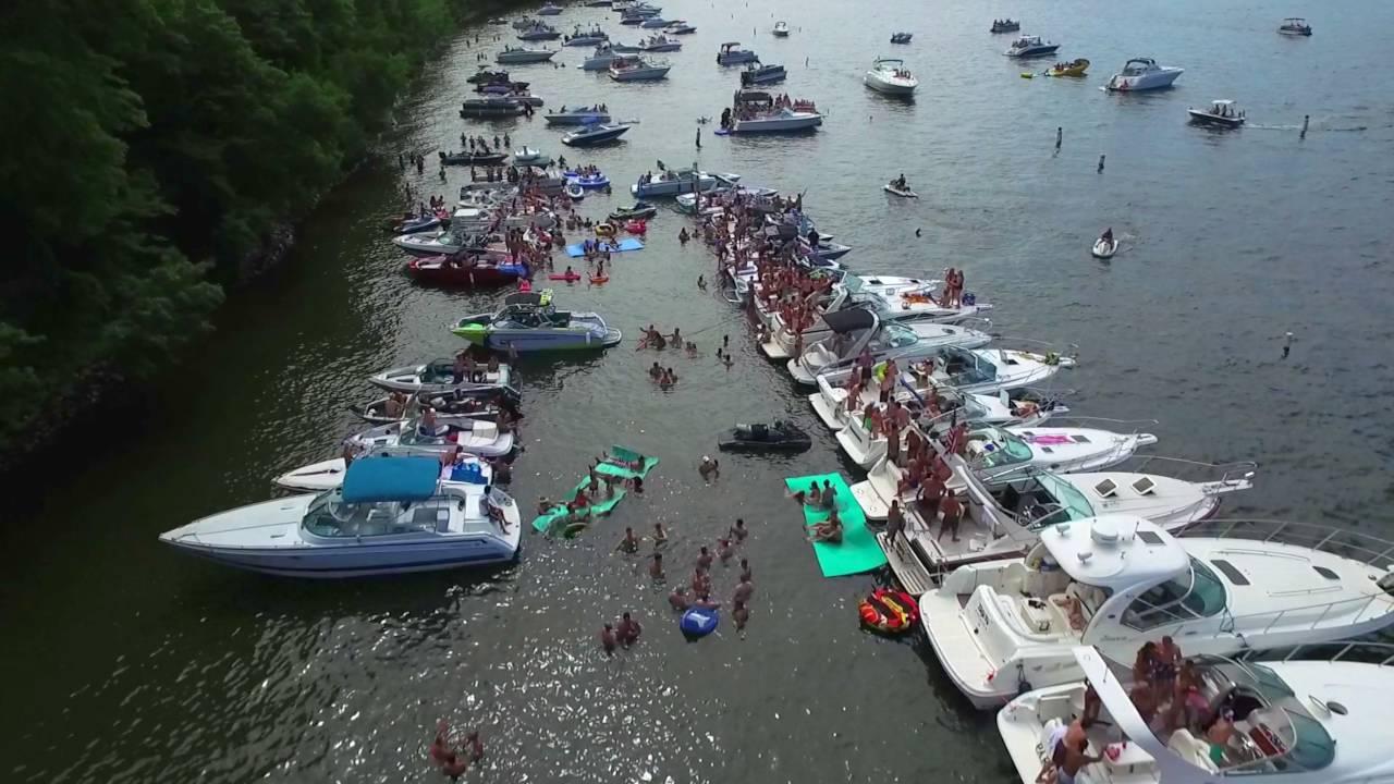 Lake minnetonka big island party perhaps