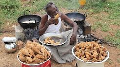 KFC Chicken / 100 Legs / 100 Wings / Prepared by my DADDY / Village food factory
