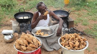 KFC Chicken / 100 Legs / 100 Wings / Prepared by my DADDY / Village food factory thumbnail