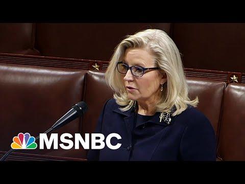 Defiant Liz Cheney Blasts Republicans For Emboldening 'Liar' Trump