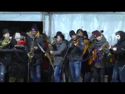 Gambatesa 318^ edizione maitunat 1-1-2018: squadra NATRAT di Luigi Passarelli