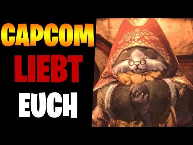 CAPCOM LIEBT IHRE SPIELER - Kostenlose DLCs & Geschenke in Monster Hunter | Gegenteil von Bethesda