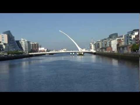 SAMUEL BECKETT BRIDGE - DUBLIN - IRELAND - JUNE 7, 2013.