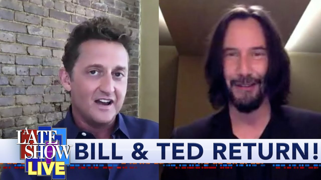 """Download Keanu Reeves & Alex Winter Credit The Fans For Getting """"Bill & Ted Face The Music"""" Made"""
