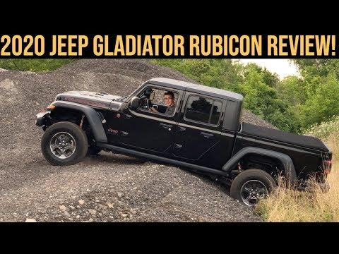 2020 JEEP GLADIATOR RUBICON REVIEW, OFF ROAD, 0-60 TEST