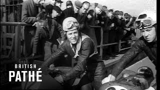 "Motorcycle Racing - Geoff Duke Wins ""Red Rose"" Trophy (1954)"