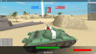 Roblox:Tankery T-54B New tank Review!