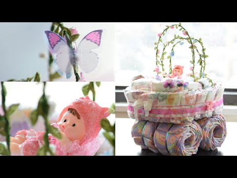 Bassinet Diaper Cake | How To | Baby Shower