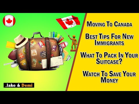 Life In Canada : What To Pack In Your Suitcase When Moving To Canada?