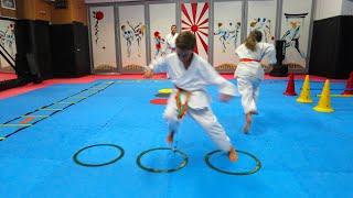 Karaté - cours et exercices pour les enfants avec Michel Kervadec #3