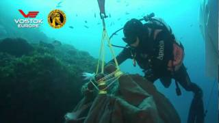 Dive Footage of the Vostok-Europe Anchar in Action
