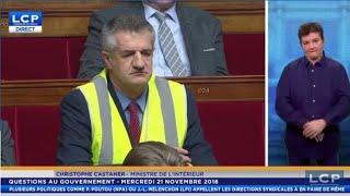 Jean Lassalle se ramène avec un gilet jaune en pleine Assemblé Nationale 😂😂