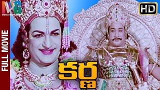 Karna Telugu Full Movie  Ntr  Savitri  Sivaji Ganesan  Telugu Hit Movies  Indian Video Guru