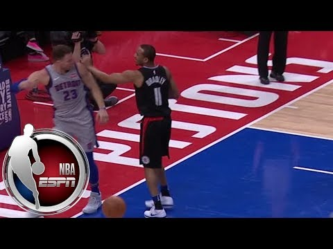 Blake Griffin gets tech in first game vs. Clippers after scuffle with Avery Bradley | ESPN