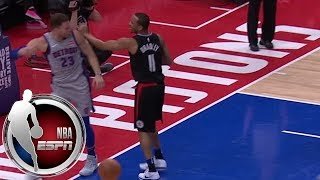 Blake Griffin gets tech in first game vs. Clippers after scuffle with Avery Bradley   ESPN