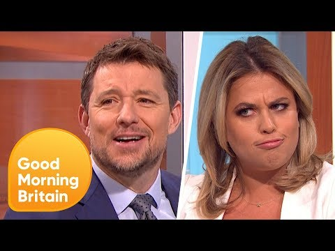 Ben Shephard Didn't Realise the 'Aubergine Emoji' Meant THAT! | Good Morning Britain