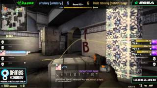 Liga GamesAcademy CS:GO #1 - Qualificatório II - unGlory x Hold Strong