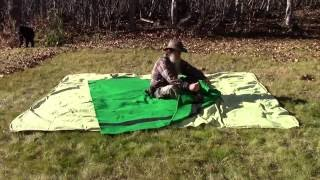 Easy To Make Winter Cowboy Bed Roll