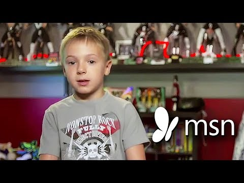 MSN Kid Wonders Documentary - Avery Drummer Molek (6 year old Drummer)