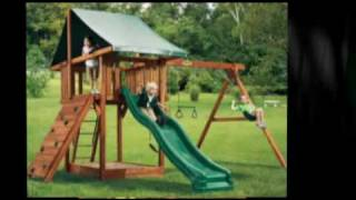 Slides And Swing Sets For Kids