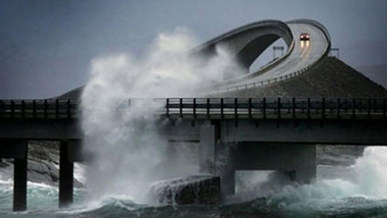 Most Dangerous Roads In The World YouTube - The 10 scariest roads in the world