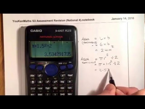 Nat 4 Revision S3 Assessment Q9_16 Calculator