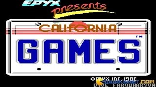 California Games gameplay (PC Game, 1987)