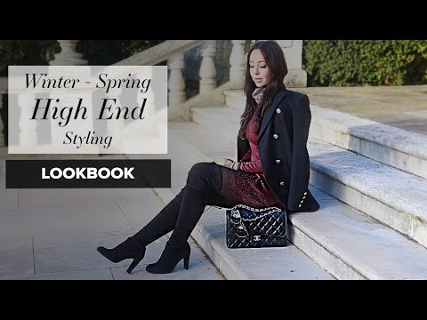 FASHION BLOGGER STYLING: Winter into Spring 2017
