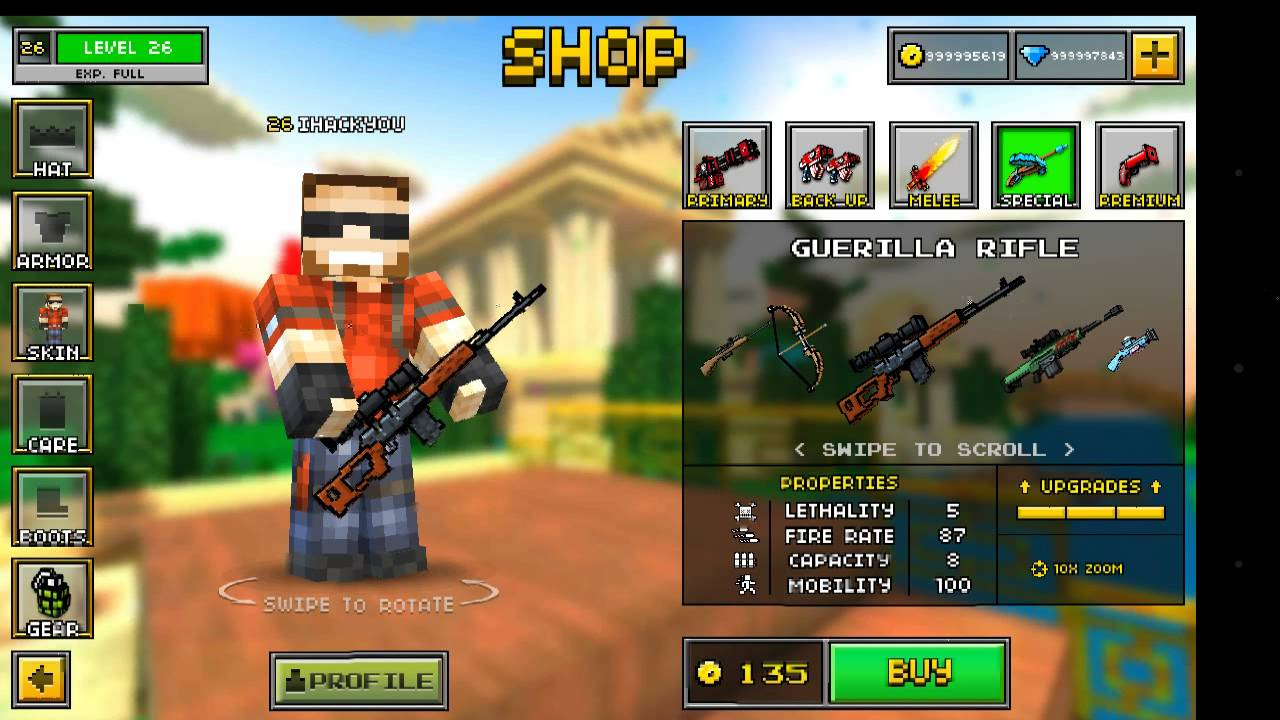 Image result for pixel gun 3d hack