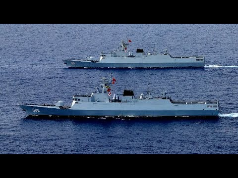 China Holds Live-Fire Exercise in Taiwan Strait