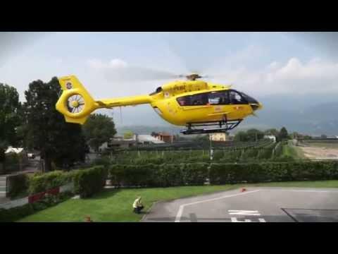 Il debutto in Italia dell'elicottero H145 HEMS