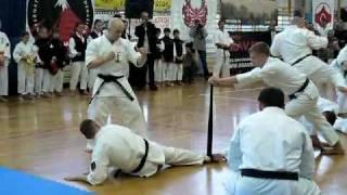 Białostocki Klub Oyama Karate - Baseball Bat Break