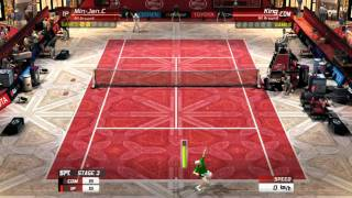 Virtua Tennis 3: Custom Player (All Around) V.S. King (LV.37)