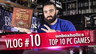 Vlog #10: Τα 10 αγαπημένα μας PC games!