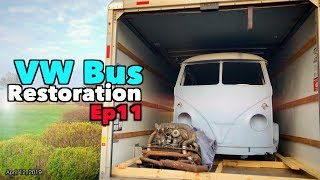 VW Bus Restoration Episode 11 - California Dreamin! | MicBergsma