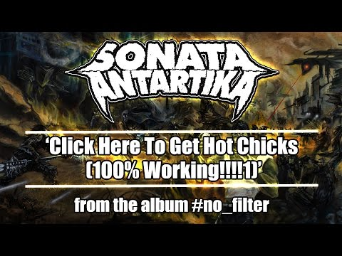Sonata Antartika - Click Here To Get Hot Chicks (100%WORKING!!!1) ft. Κατερίνα Μπάιλα