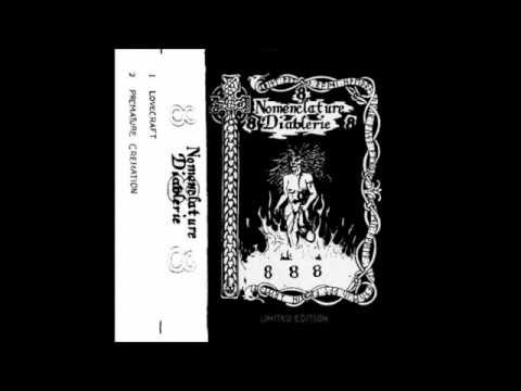 Nomenclature Diablerie - 888 (1988 Demo)
