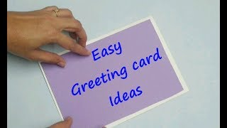 3 easy Greeting card ideas new year cards Christmas and new year cards diy greeting cards