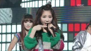 Brown Eyed Girls - L.O.V.E, 브라운 아이드 걸스 - 러브, Music Core 20100220