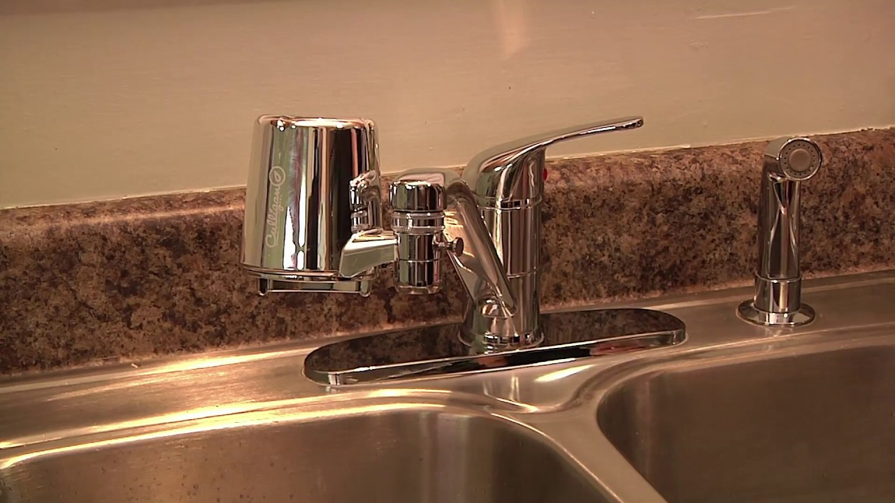 How to install the Culligan Faucet Mount Filtration System (FM-25 ...