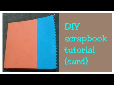 How to make Scrapbook Pages/ Cards Ideas/ DIY Scrapbook Tutorial (part 2)